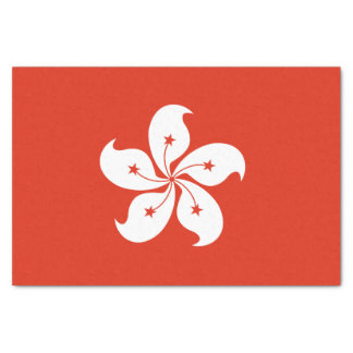 Hong Kong Flag Tissue Paper