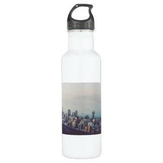 Hong Kong From Above 710 Ml Water Bottle