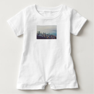 Hong Kong From Above Baby Bodysuit