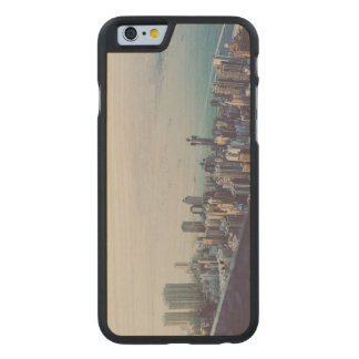 Hong Kong From Above Carved Maple iPhone 6 Case