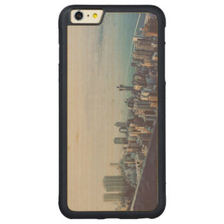 Hong Kong From Above Carved Maple iPhone 6 Plus Bumper Case