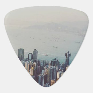 Hong Kong From Above Plectrum