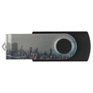 Hong Kong From Above USB Flash Drive