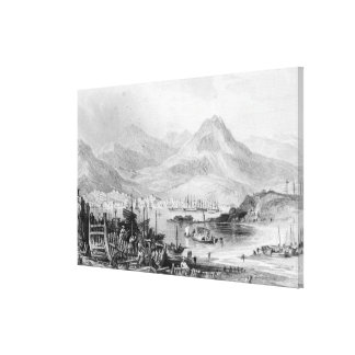 Hong-Kong from Kow-loon Gallery Wrapped Canvas