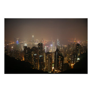 Hong Kong From Victoria Peak Posters