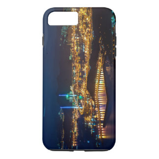 Hong Kong Harbor Skyline Lights at Night iPhone 7 Plus Case