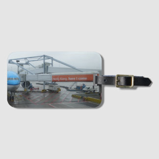 Hong Kong, here I come Luggage Tag