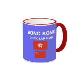 Hong Kong HKG Chek Lap Kok Airport Mug