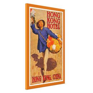 Hong Kong Hotel - L Canvas Prints