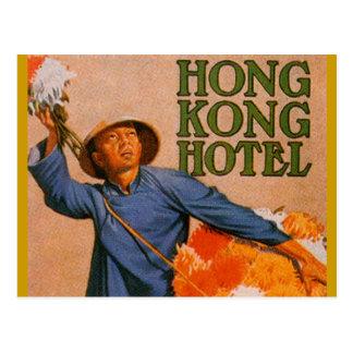 Hong Kong Hotel Postcard