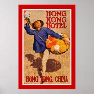 Hong Kong Hotel Poster