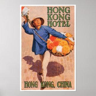 Hong Kong Hotel Travel Poster