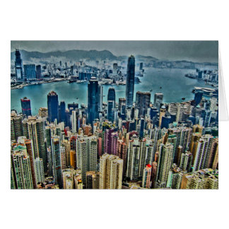 Hong Kong Island Card