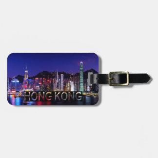 Hong Kong Luggage Tag