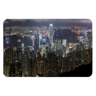 Hong Kong Night Skyline Magnet