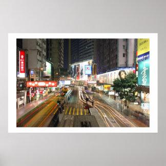 Hong Kong Nights Print