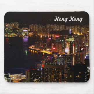 Hong Kong Nightscape Travel Mouse Pad