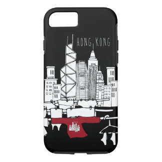 Hong Kong Old x New scenery iPhone 7 Case