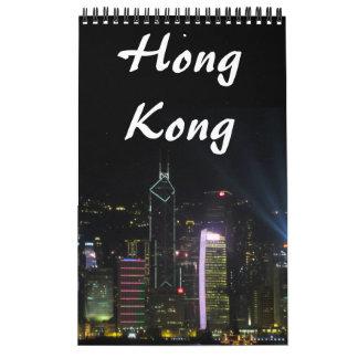 hong kong photography wall calendar
