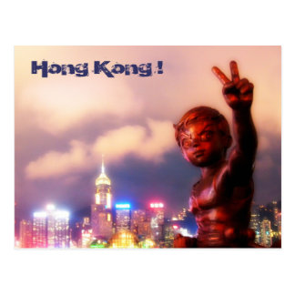 Hong Kong! Postcard