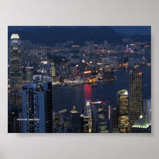 HONG KONG POSTER by LANI GIRO