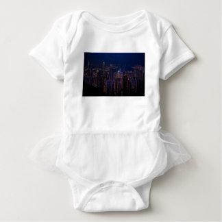 Hong Kong Skyline Baby Bodysuit