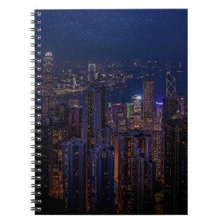 Hong Kong Skyline Notebook