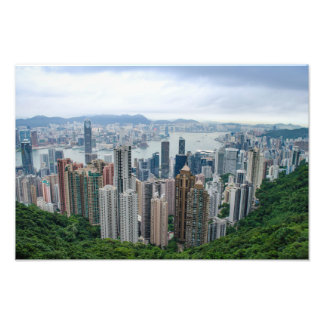 Hong Kong Skyline Photo Print
