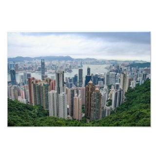 Hong Kong Skyline Photograph