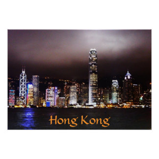 Hong Kong Skyline Posters
