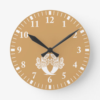 Honjo radish wallclocks