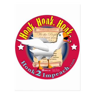 Honk2Impeach Postcard