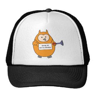 Honk if You're Hootie Owl Mesh Hat