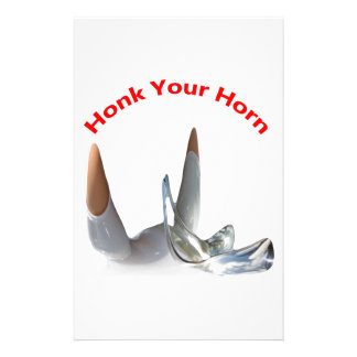 Honk Your Horn Stationery