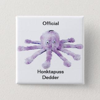 Honktapuss dedder 15 cm square badge