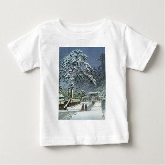 Honmonji Temple in Snow - Kawase Hasui 川瀬 巴水 Baby T-Shirt