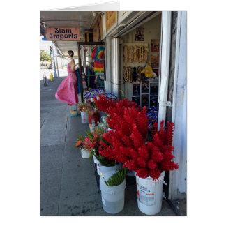 Honolulu Flower Shop Card