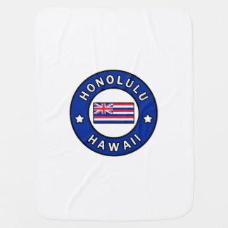 Honolulu Hawaii Baby Blanket