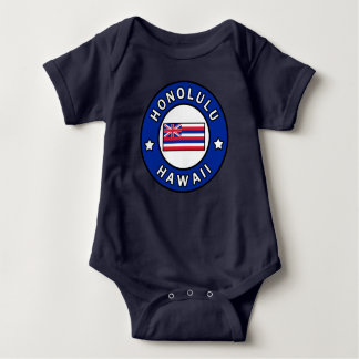 Honolulu Hawaii Baby Bodysuit