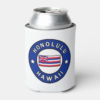 Honolulu Hawaii Can Cooler