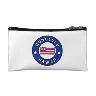 Honolulu Hawaii Cosmetic Bag