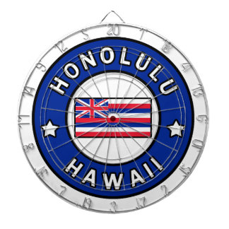 Honolulu Hawaii Dartboard