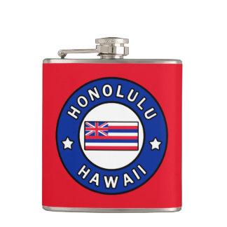 Honolulu Hawaii Hip Flask