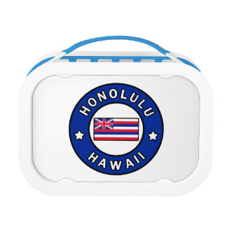 Honolulu Hawaii Lunch Box