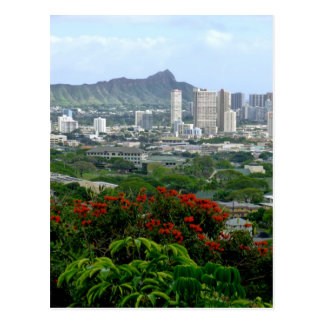 Honolulu, Hawaii Postcard