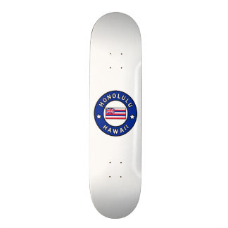 Honolulu Hawaii Skate Board Decks