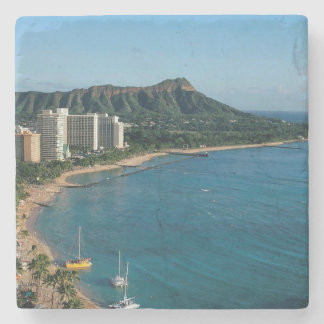 Honolulu Hawaii Stone Coaster