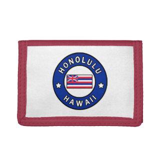 Honolulu Hawaii Tri-fold Wallet
