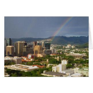 Honolulu Rainbow Card