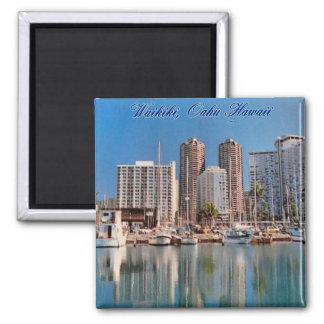 Honolulu Scenes Magnet